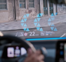 Augmented Windshield Projections